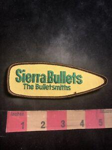 SIERRA-BULLETS-THE-BULLETSMITHS-Gun-Ammo-Related-Advertising-Patch-C93N