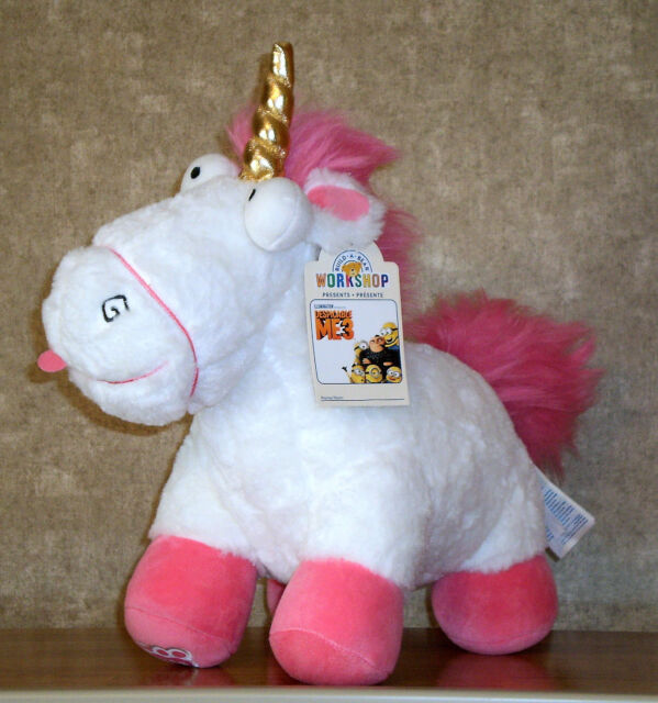 Build A Bear Minions Fluffy UNSTUFFED Unicorn Despicable Me Plush Doll Toy New