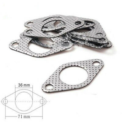 1pc Wastegate Gasket 35MM 38MM Fit For Tial Dump Tube 2 Hole Pipe Turbo Metal
