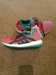 Boost Pure 5 Size 5 New Trainers Adidas Green X And Pink faxc5vdw