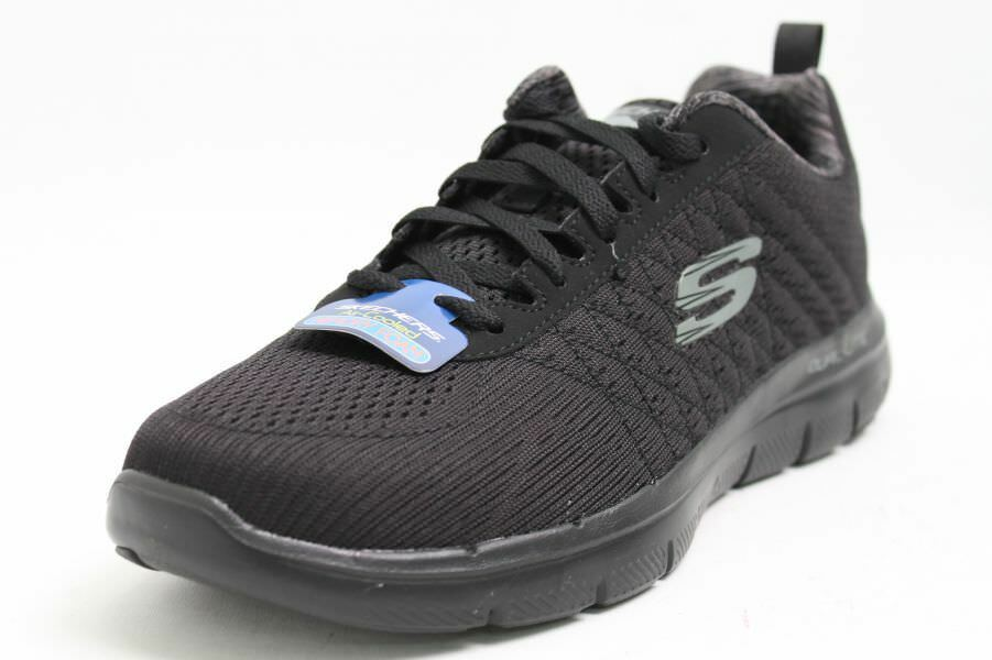 Skechers Schuhe schwarz Meshgewebe Memory Foam Dual-Lite Air-Cooled