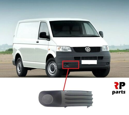 FOR VW TRANSPORTER T5 03-09 NEW FRONT BUMPER FOGLIGHT COVER GRAY RIGHT O//S