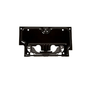RUGGED RIDGE 11233.01 License Plate Bracket Black For 87-95 Jeep Wrangler YJ