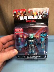 Roblox Bionic Bill Mix Match With Virtual Code New Sealed Ebay