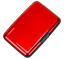 miniatuur 44 - RFID-Aluminium-Brieftasche-Kreditkartenhalter-Kartenetui-Metall-ID-Etui-Amadeus