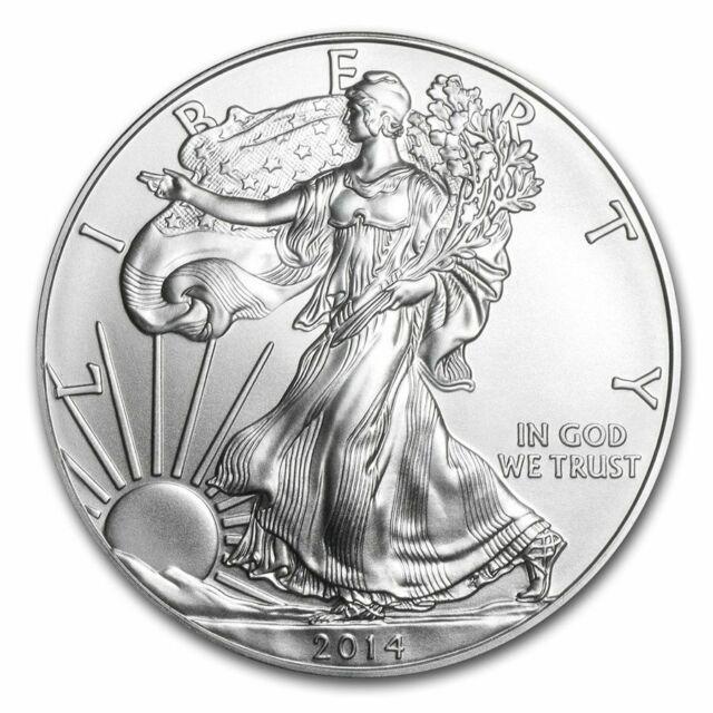 2014 American Eagle 1oz .999 Silver Bullion Coin ASE - US Mint