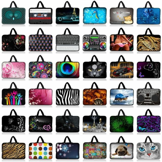 """14"""" inch 14.1"""" Notebook Laptop Sleeve Bag Case Cover + Handle For HP Sony Dell"""