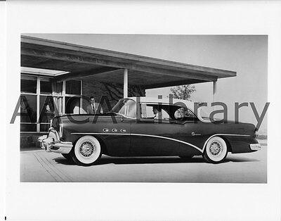 Ref. # 28561 1958 Buick Model 75 Roadmaster four door Riviera Factory Photo