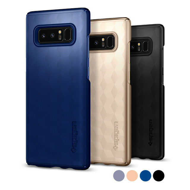 new style 08753 66a39 For Samsung Galaxy Note 8 Spigen® [Thin Fit] Ultra Slim Lightweight Case  Cover