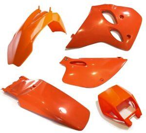 Plastiksatz-KTM-LC4-ab-94-orange-Plastikkit-400-620-EGS-Verkleidung
