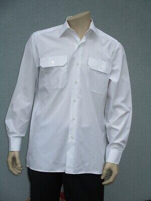 Abile Esercito Tedesco Camicia Servizio Bw Per Il Tempo Libero Camicia, Business Uniform Camicia Bianco Manica Lunga-mostra Il Titolo Originale Materiali Accuratamente Selezionati