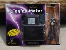 NIB Halloween Electric Spinning Motor + Adapter w 16' Cord Holds 5lbs. N0209