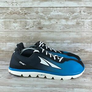 Altra-One-2-5-Mens-Size-15-Blue-Black-Athletic-Training-Running-Shoes