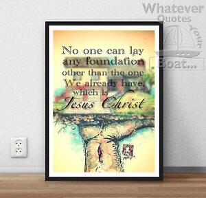 God Is Love Life Bible Quote Jesus Christ Positive Poster Picture
