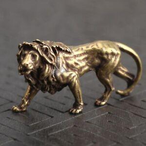 Desk-Lion-ornament-Decoration-Display-Statue-Sculpture-Accessories-Miniatures