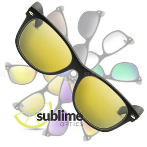 6c644b480ed Image is loading POLARIZED-Clear-Yellow-Replacement-Lenses-For-Ray-Ban-