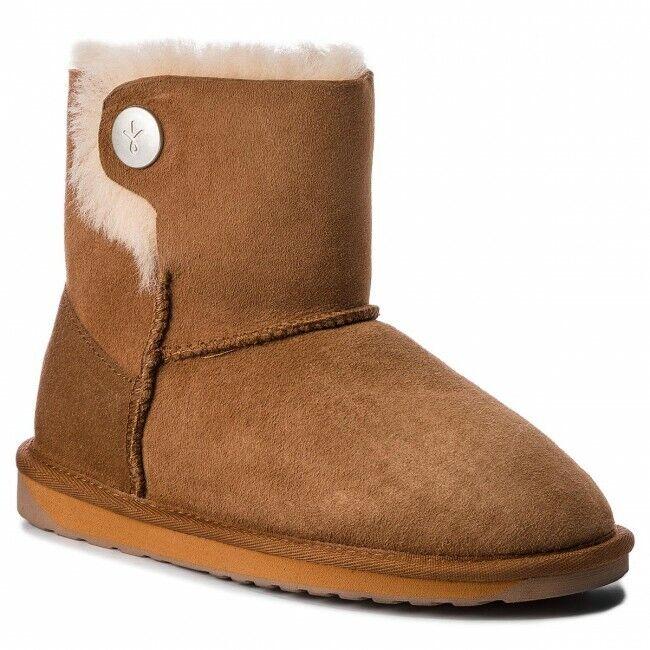 Emu Ore boot sheepskin chestnut