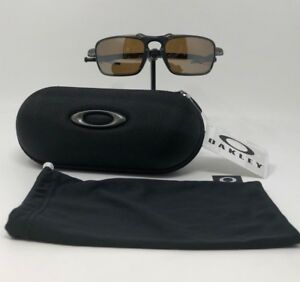 2b8299160d6 Image is loading Authentic-Oakley-Badman-Pewter-w-Tungsten-Iridium-Polarized -