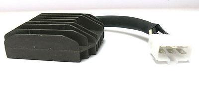 Black Motorcycle Voltage Regulator Rectifier For Kawasaki ZZR 400 1990-1992 New