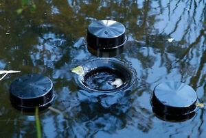 Skimmer Teichskimmer Schwimmskimmer Oberflächenabs<wbr/>auger Teichreiniger 140 Meßner