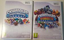 Skylanders Bundle: Skylanders Giants + Spyro's Adventure. Nintendo Wii PAL