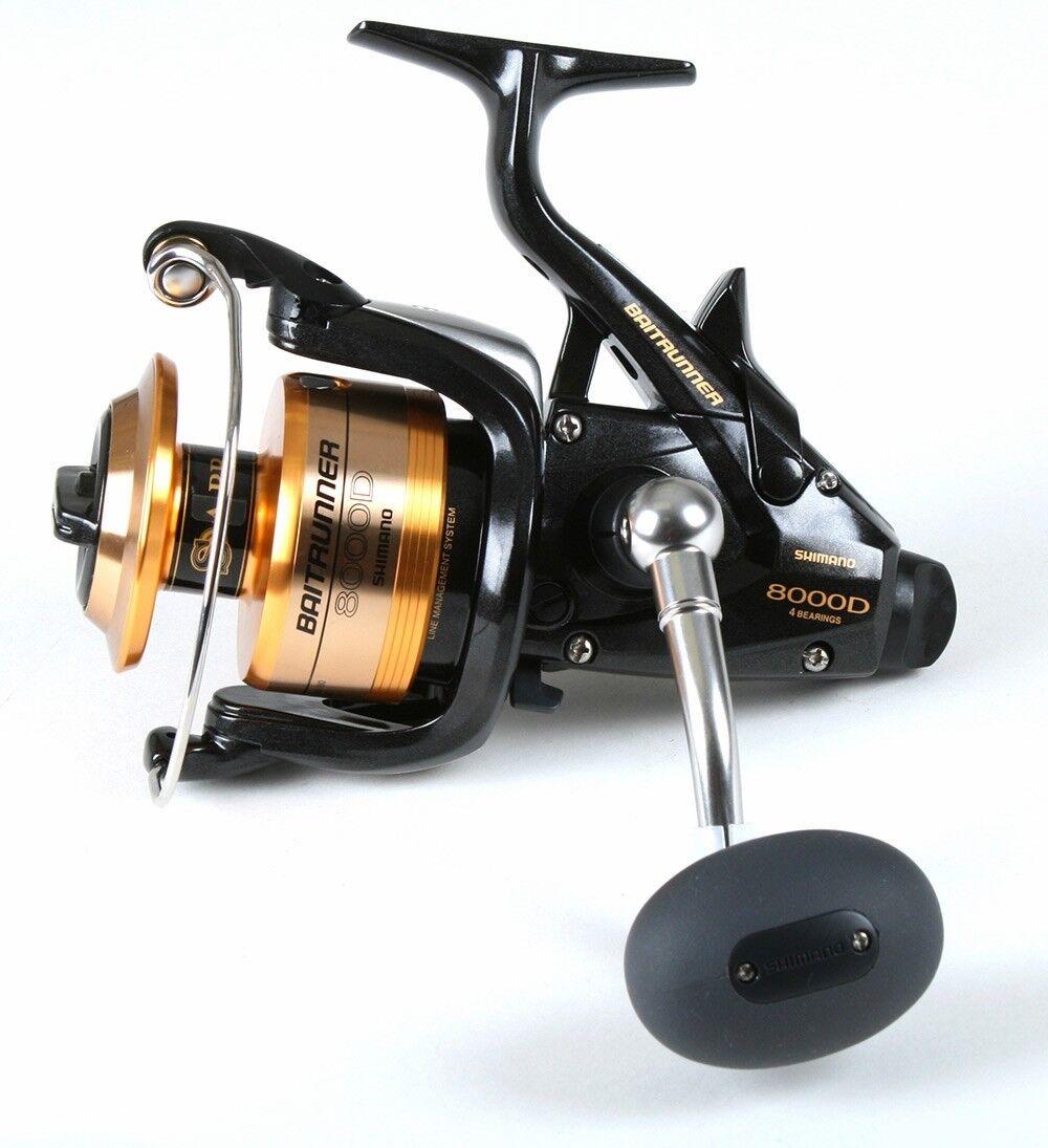 Shimano baitrunner 8000 D, baitrunner fishing reel BTR8000D   100% free shipping