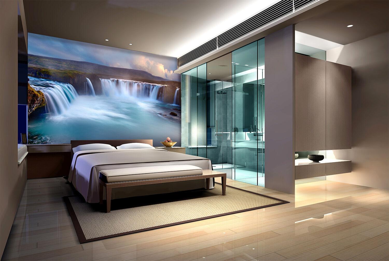 3D Oceano 7 Parete Murale Foto Carta da parati immagine sfondo muro stampa