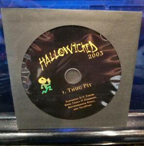 Insane-Clown-Posse-Thug-Pit-CD-Hallowicked-2003-Esham-Tech-N9ne-KMK-ICP-RARE