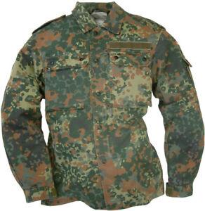 """Véritable Armée Allemande Champ Chemise Bundeswehr Flecktarn Léger Veste 42/"""""""