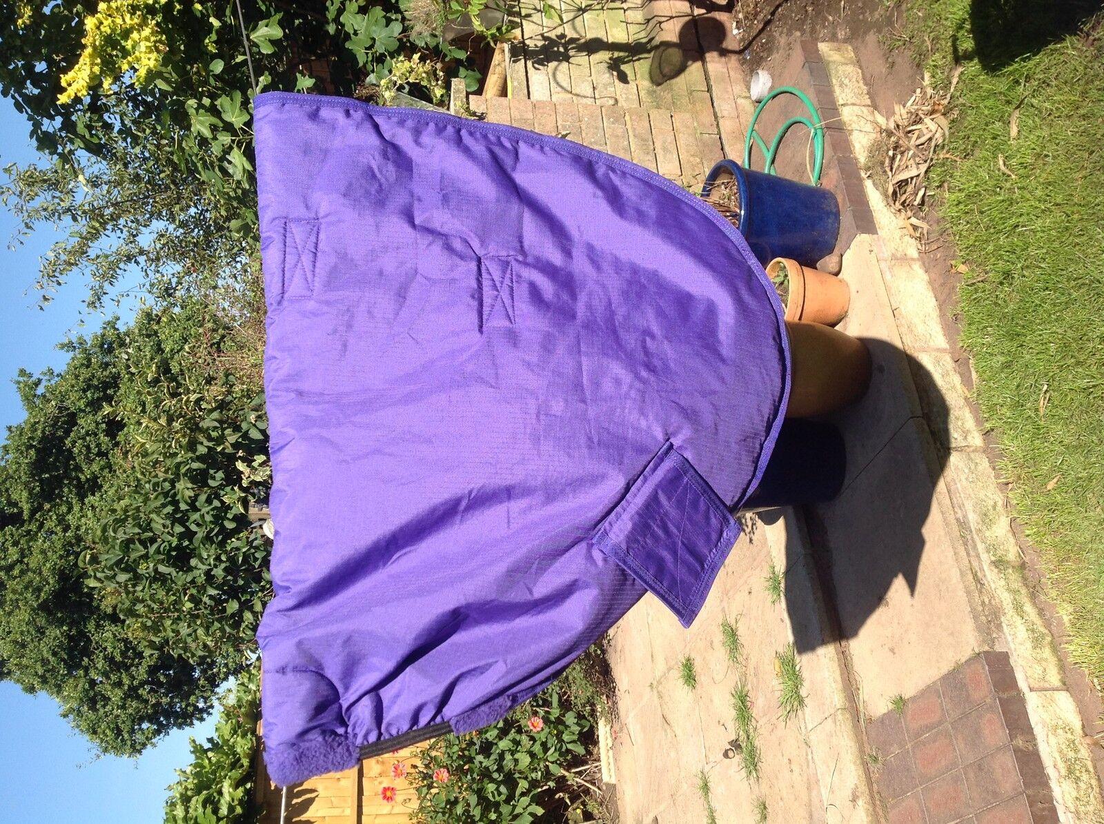 Kadence equiwear turnout hood - large - purple