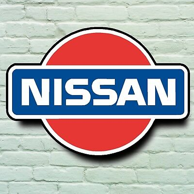 WALL MOUNTED LIGHT BOX for Garage Nissan GTR LED ILLUMINATED SIGN Man Cave
