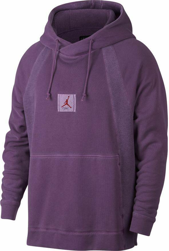 Men's Jordan Sports Wear Washed Wings Pull Over Hooded SweatShirt 939956 525