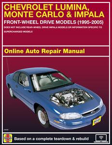 impala repair manual 2003 how to and user guide instructions u2022 rh taxibermuda co Haynes Repair Manuals Online Haynes Repair Manual 1987 Dodge Ram 100
