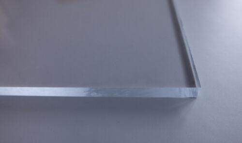 PMMA XTtransparent40x30 cmbeidseitig foliert  4 mm stark Acrylglas