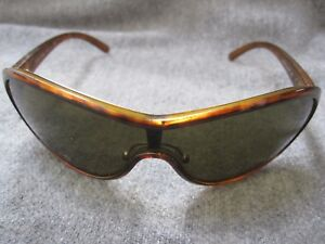 dc8fc717890a7 Image is loading Prada-Brown-Wrap-Sunglasses-SPR-16G-2AU-2P1-