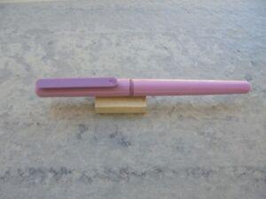 Fountain Pen (estilografica) Waterman Morado Mod. Escolar De Los AÑos 90 New Avec Des MéThodes Traditionnelles