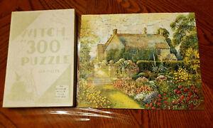 Vintage-Witch-300-Jigsaw-Puzzle-Salem-Mass-Ancestorial-Home-of-George-Washington