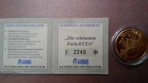 Münze Europa Ecu 2000 30 Mm Ebay