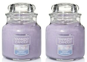 Yankee-Candle-2-Pack-Sweet-Nothings-Small-Jar-Candle-3-7-Oz-Scented-Candle