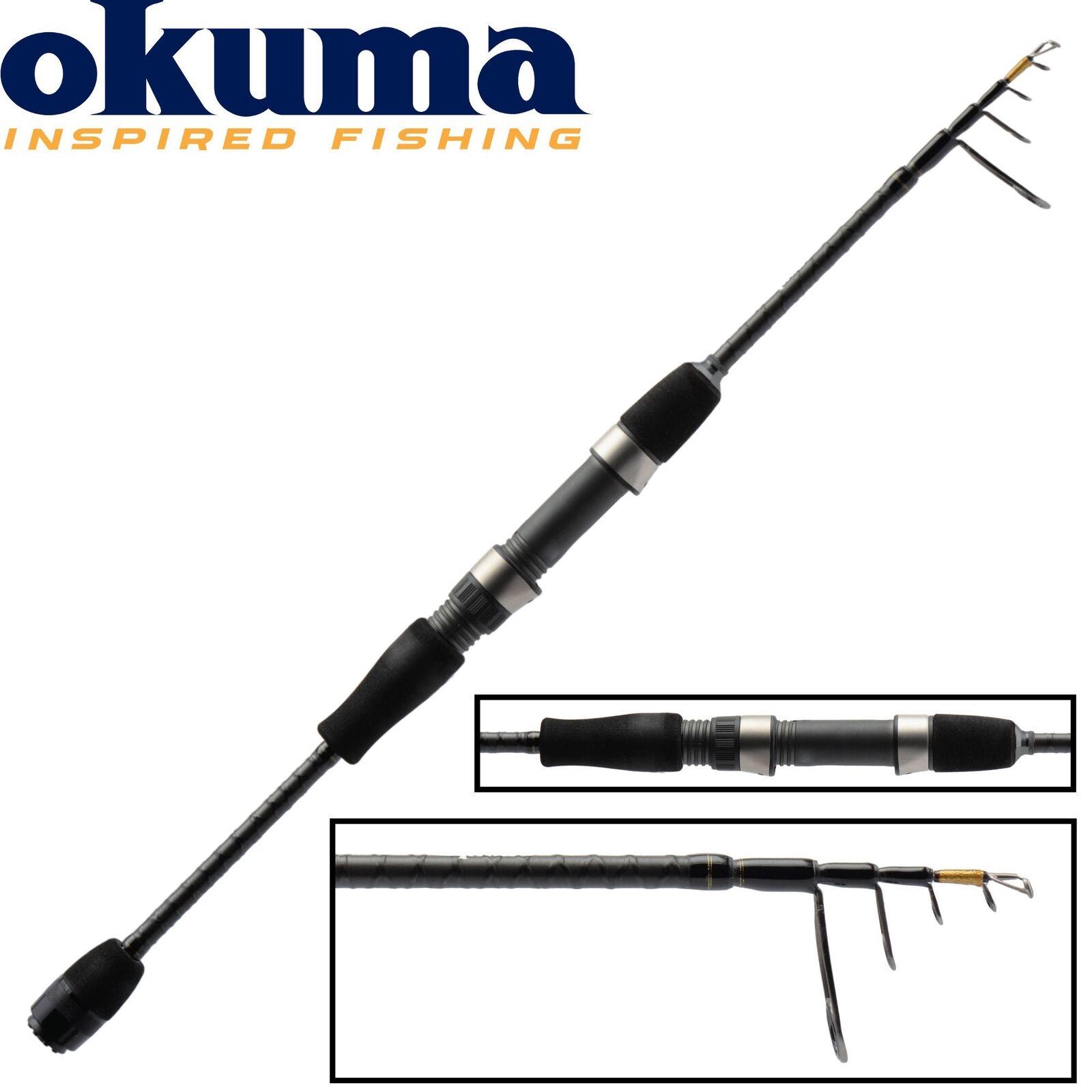 Okuma Light Range Fishing UFR Teleskoprute 225cm 8-22g - Spinnrute, Blinkerrute