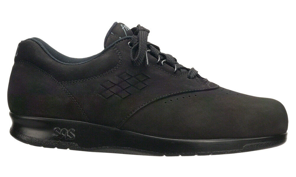 SAS Women's shoes Free Time Black Charcoal 6.5 Wide Wide Wide FREE SHIPPING New In Box 8385f9