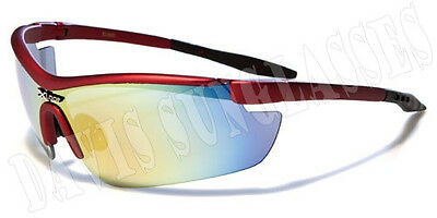Men's Women's X Loop Sunglasses XL0605 UV400 Davis I9US cycling running red