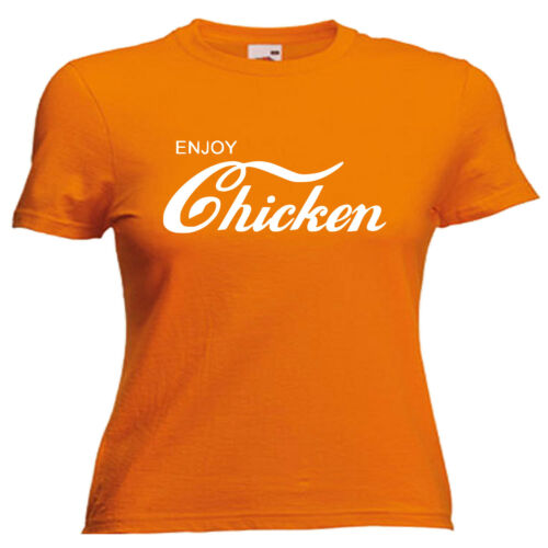 Love Chicken Ladies Lady Fit T Shirt 13 Colours Size 6-16