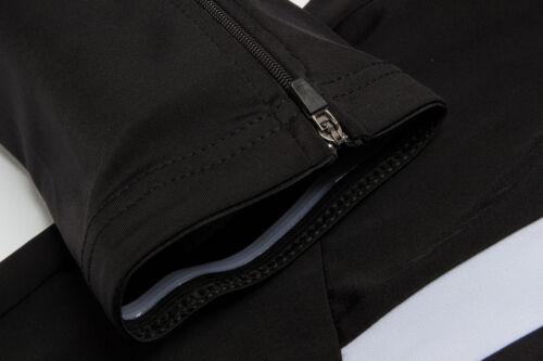 Road Bike Clothing Kit Men/'s Summer Cycling Long Sleeve Jerseys /& Pad Pants Set