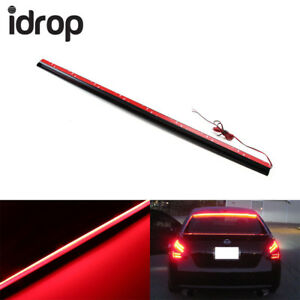 Universal 36 red led suv car rear window mount roofline brake led image is loading universal 36 039 039 red led suv car aloadofball Image collections
