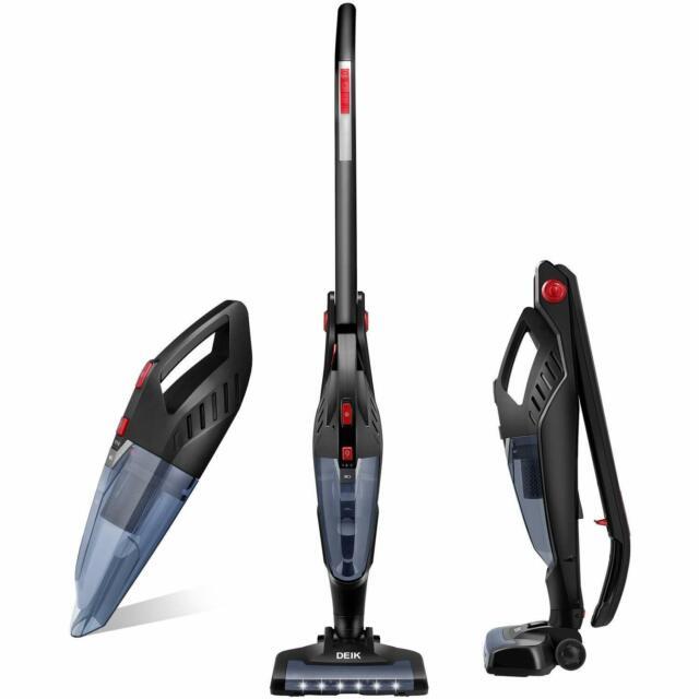 Deik 2 in 1 Animal Cordless Vacuum Cleaner 22.2V 2200mAh Upright Charging Base