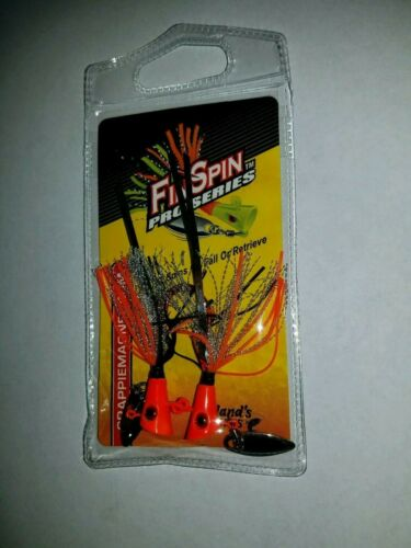 1//8oz 2pk NEW   Fin Spin Pro Series