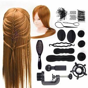 24-034-cabeza-de-peluqueria-50-cabello-humano-real-maniqui-Maquillaje-Trenza-Peine-Pinza