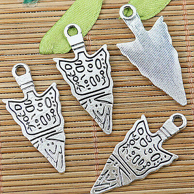 10pcs tibetan silver color abstract pattern design charms  EF1295