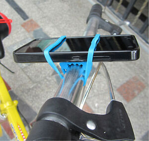 Bike-Cycle-Cycling-Silicone-Elastic-Bind-Strap-Mount-Holder-for-Lights-Phone-SRA